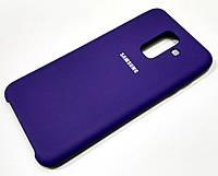Чохол Silicone Case Cover Samsung Galaxy A6+ A605 2018 / A6 Plus 2018 фіолетовий