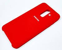 Чохол Silicone Case Cover Samsung Galaxy A6+ A605 2018 / A6 Plus 2018 червоний
