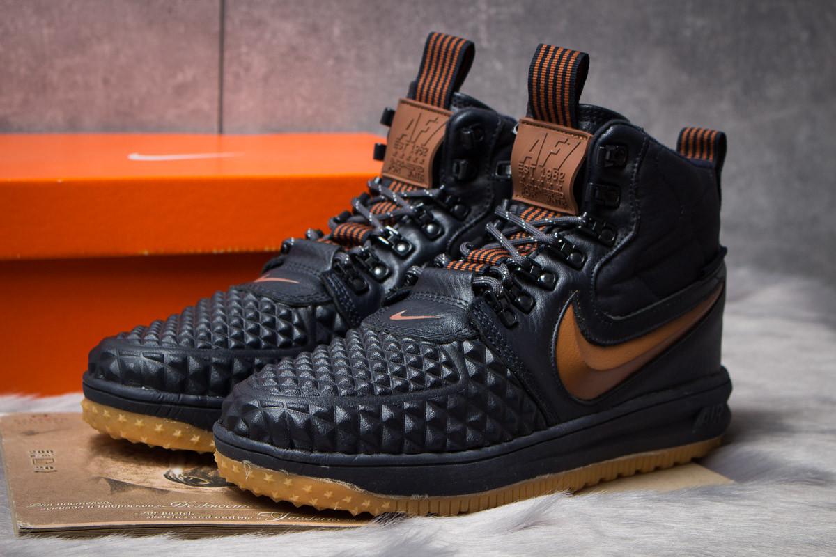 Зимние мужские кроссовки 30913, Nike LF1 Duckboot, темно-синие ( нет в наличии  )