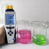Термометр Flus ET-959 ( TM705 ) с термопарой К ( от -210 до +1100°C ) и J (от-200 до +1372 °С)-типа Цена с НДС, фото 3