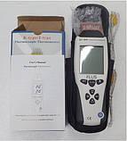 Термометр Flus ET-959 ( TM705 ) с термопарой К ( от -210 до +1100°C ) и J (от-200 до +1372 °С)-типа Цена с НДС, фото 4