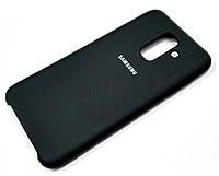Чохол Silicone Case Cover Samsung Galaxy A6+ A605 2018 / A6 Plus 2018 чорний