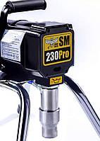 Окрасочный аппарат SM-230Pro (латексные, силиконовые, эпоксидные, полиуретановые, ПФ, ГФ)