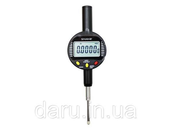 Индикатор цифровой часового типа Shahe (5310-25) 0-25 мм (0,001 мм) без ушка