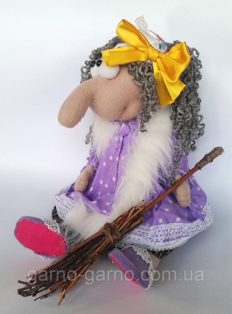 Баба Яга Печерська Інтер'єрна лялька-оберіг