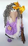 Баба Яга Печерська Інтер'єрна лялька-оберіг, фото 3