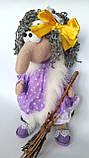 Баба Яга Печерська Інтер'єрна лялька-оберіг, фото 5