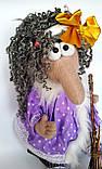 Баба Яга Печерська Інтер'єрна лялька-оберіг, фото 6