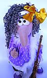 Баба Яга Печерська Інтер'єрна лялька-оберіг, фото 7