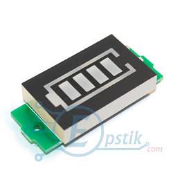 Индикатор уровня заряда батареи, 3.3-4.2В