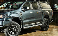 Подножки силовые  TJM Ford Ranger 2012+