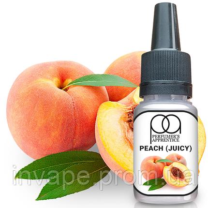 Ароматизатор TPA Peach (Juicy) (Сочный персик)) 5мл, фото 2
