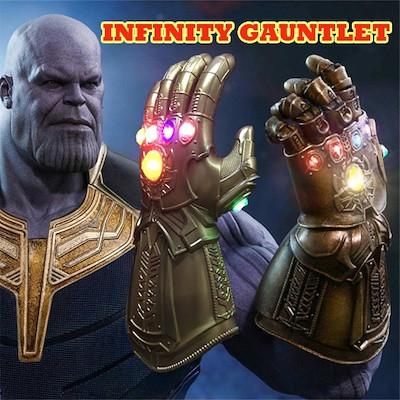 Электронная Перчатка Танос Герой Marvel, свет,звук Thanos Articulated Electronic Fist, HASBO! Оригинал из США