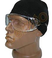Захисні, робочі окуляри uvivet 519.00.00.11 відкриті на дужках, фото 1