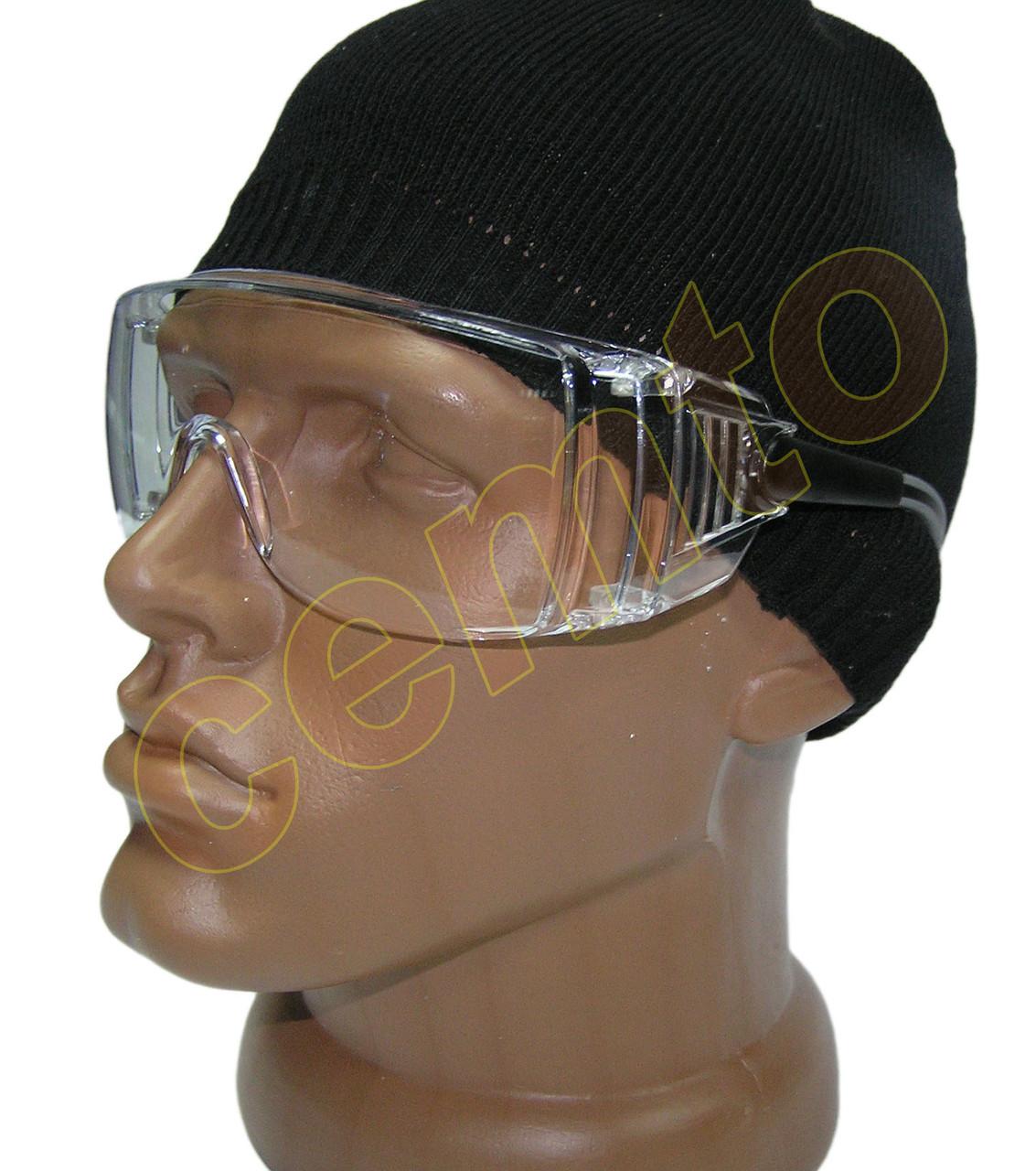 хорошие прозрачные защитные рабочие очки univet унивет 519.00.00.11 ... 9babed1a29ae8