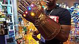 Электронная Перчатка Танос Герой Marvel, свет,звук Thanos Articulated Electronic Fist, HASBO! Оригинал из США , фото 4