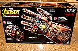 Электронная Перчатка Танос Герой Marvel, свет,звук Thanos Articulated Electronic Fist, HASBO! Оригинал из США , фото 6