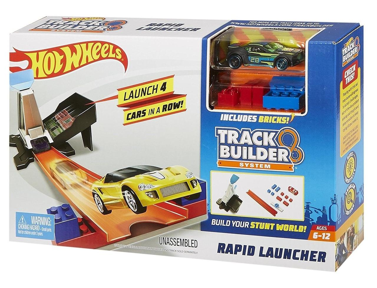 Hot Wheels Пусковая установка Track Builder Rapid Launcher