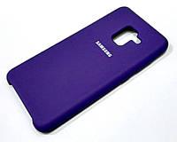 Чохол Silicone Case Cover Samsung Galaxy A8 A530f (2018) фіолетовий
