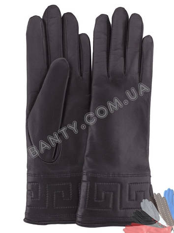 Женские перчатки на шерстяной подкладке, модель 197, фото 2