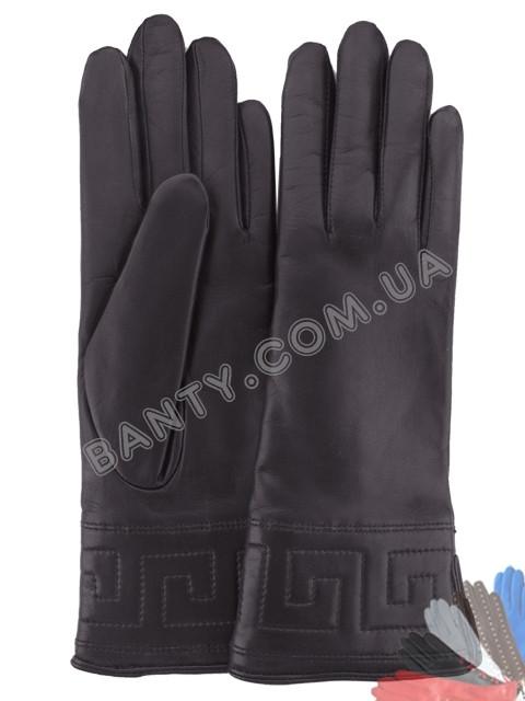Женские перчатки на шерстяной подкладке, модель 197