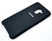 Чохол Silicone Case Cover Samsung Galaxy A8 A530f (2018) чорний