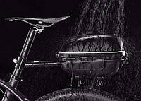 Сумка на багажник водонепроницаемая черная, фото 1