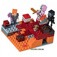 Конструктор Битва в Подземелье Lego Minecraft  21139