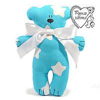 М'яка іграшка Сплюшка для малечі маленький Ведмедик, ручна робота