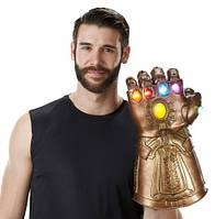 Интерактивная Перчатка Таноса, свет,звук, Thanos Electronic Fist, HASBRO! Оригинал из США , фото 1