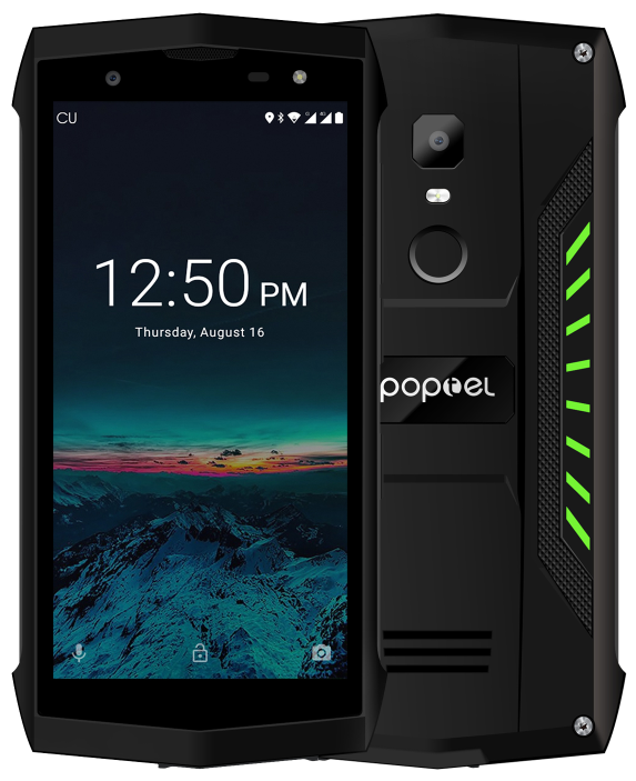 Poptel P8 2/16 Gb green IP68, NFC