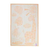 Одеяло-плед детский Жираф 100х140см
