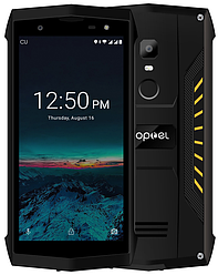 Poptel P8 2/16 Gb yellow IP68, NFC