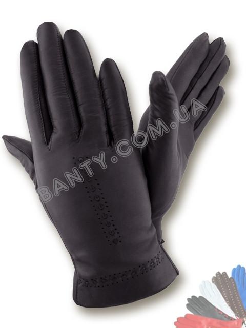 Женские перчатки на шерстяной подкладке, модель 321