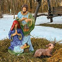 "Набор фигур ""Рождественский вертеп"" (83см, 2 фигурки), фото 1"
