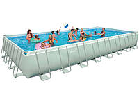 28376 Бассейн каркасный Ultra Frame Pool Intex 28376 975х488х132см