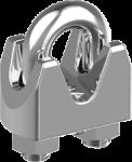 Зажим для стальных канатов 40 DIN 741