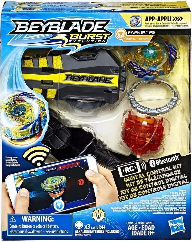 HASBRO Бейблейд Фафнир Ф3 Управление планшетом, Beyblade Burst Digital Control Kit Fafnir F3, оригинал из США