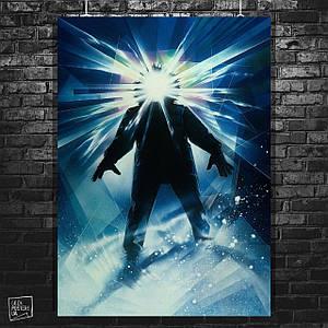 """Плакат """"The Thing, Нечто, классический постер"""", ужасы, Карпентер. Размер 60x42см (A2). Глянцевая бумага"""