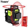 Лазерный уровень Huepar 2D Red HP-902CR, 8 линий