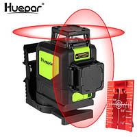 Лазерный уровень Huepar 2D Red HP-902CR, 8 линий, фото 1