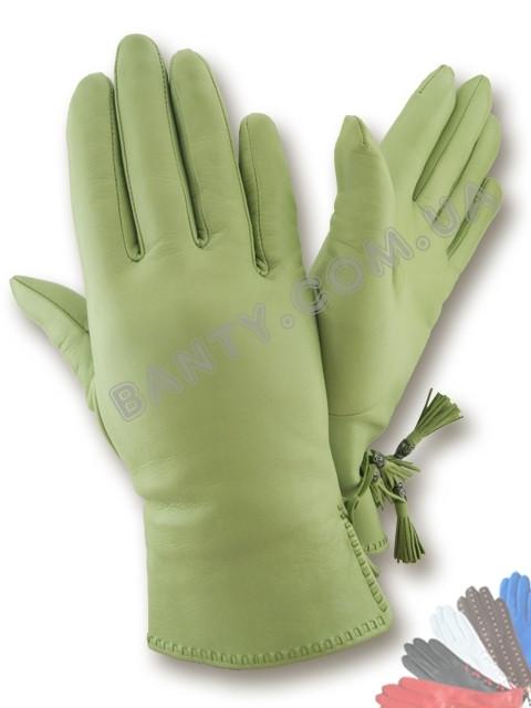 Женские перчатки на шерстяной подкладке, модель 439