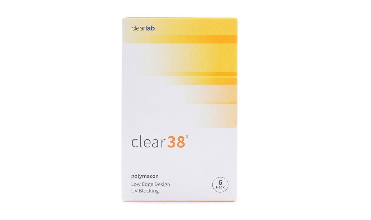 Линзы контактные clear-38