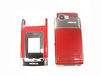 Корпус для Nokia N76 Red (Нigh Сopy/Качество A)