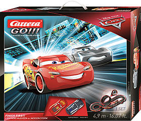 Автотрек Carrera Go Тачки 3 Будь первым длина трассы 4.9м CR-20062418