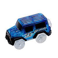 Машинка для светящегося трека Magic Tracks синий