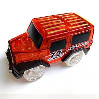 Машинка для светящегося трека Magic Tracks красный