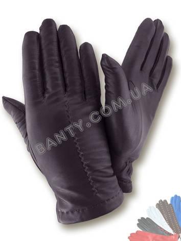 Женские перчатки на шерстяной подкладке, модель 465, фото 2