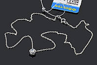 Маленький камушек на серебряной цепочке, фото 1