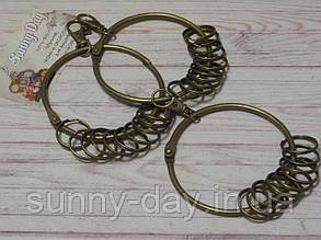 Кольцо с карабином (заготовка для ключницы)